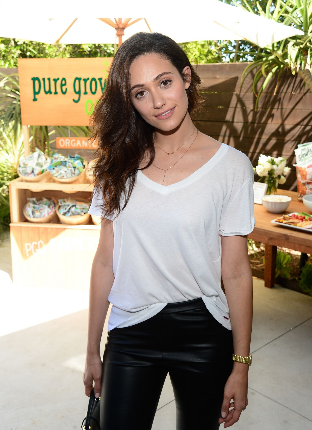 EMMY ROSSUM at N:Philanthropy Give Back Garden Party in Los Angeles 06/28/2017