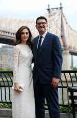 EMMY ROSSUM Marries Sam Esmail in New York 05/26/2017