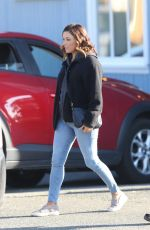EVA LONGORIA on the Set of Overboard in Vancouver 06/09/2017