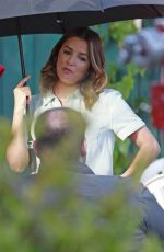 EVA LONGORIA on the Set of Overboard in Vancouver 06/12/2017