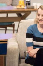 EVANNA LYNCH at Lorraine TV Show in London 06/26/2017