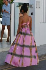 FARAH SATTUR Arrives at Fashion Festival in Ibiza 06/11/2017