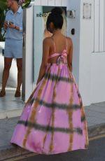 FARAH SATTUR Arrives at Fashion Festival in Ibiza 06/11/2017