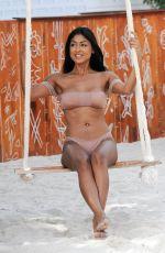 FARAH SATTUR in Bikini at a Pool Party in Ibiza 06/09/2017