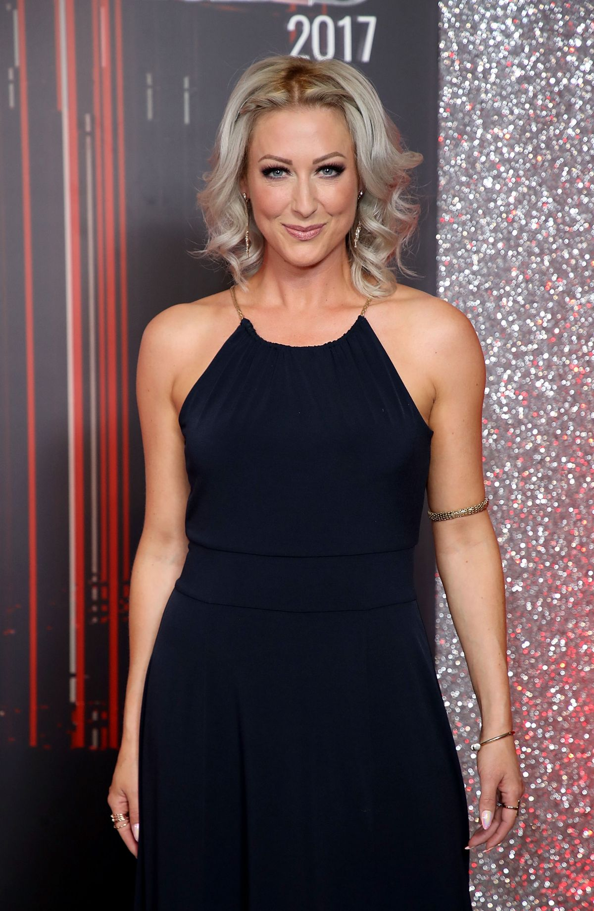 FAYE TOZER at British Soap Awards in Manchester 06/03/2017