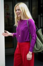 FEARNE COTTON Arrives at BBC Radio 2 in London 05/31/2017