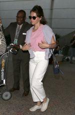 FELICITY JONES at Los Angeles International Airport 06/26/2017