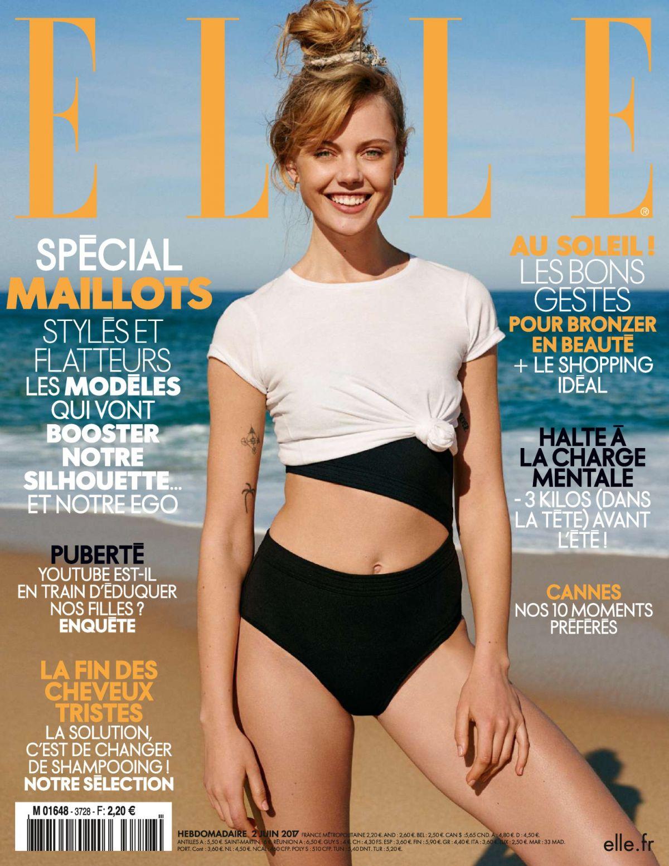 FRIDA GUSTAVSSON for Elle Magazine, France June 2017