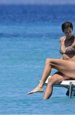 GARBINE MUGURUZA in Bikini at a Boat in Formentera 06/15/2017