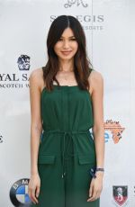 GEMMA CHAN at Sentebale Royal Salute Polo Cup in Singapore 06/05/2017