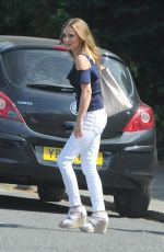 GERI HALLIWELL Taking Her Electric Car for a Spin in London 06/26/2017