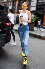 GIGI HADID Arrives at a Photoshoot in New York 06/26/2017