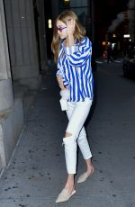 GIGI HADID Arrives at Her Apartment in New York 06/04/2017
