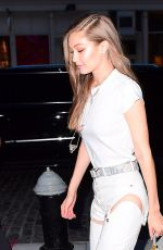 GIGI HADID Arrives at Her Apartment in New York 06/10/2017