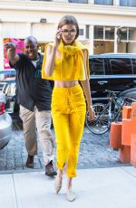 GIGI HADID Arrives at Her Home in New York 06/02/2017