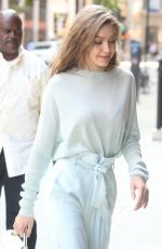 GIGI HADID Arrives at Her Home in New York 06/15/2017