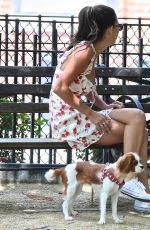 GIGI HADID at Tompkins Square Park in New York 06/14/2017