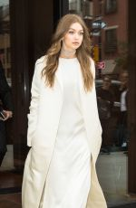 GIGI HADID Leaves Her Apartment in New York 06/0502017
