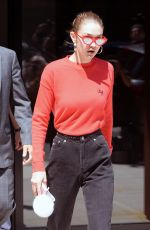 GIGI HADID Out and About in New York 05/31/2017