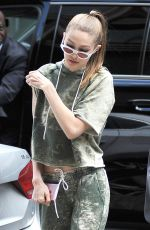 GIGI HADID Out and About in New York 06/09/2017