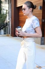 GIGI HADID Out and About in New York 06/22/2017