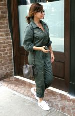 GINA GERSHON Arrives at Her Hotel in New York 06/27/2017