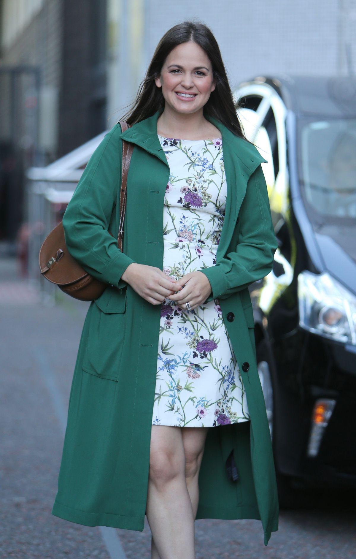 GIOVANNA FLETCHER Leaves ITV Studios in London 06/13/2017