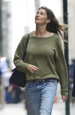 GISELE BUNDCHEN Out and About in New York 06/16/2017
