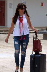 GISELLE BLONDET Arrives at Airport in San Juan 05/31/2017