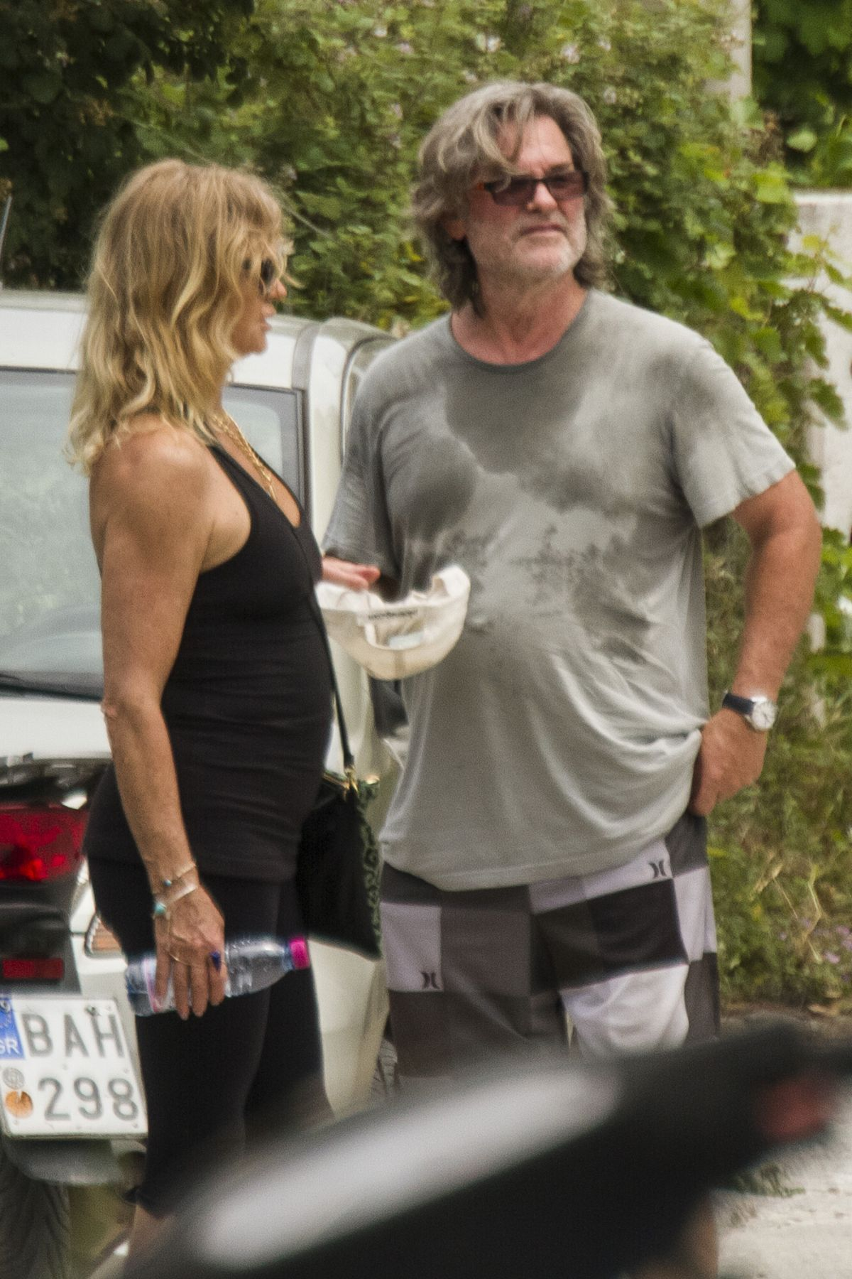 GOLDIE HAWN and Kurt Russell Out and About in Skiathos 06 ...