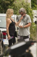 GOLDIE HAWN and Kurt Russell Out and About in Skiathos 06/16/2017