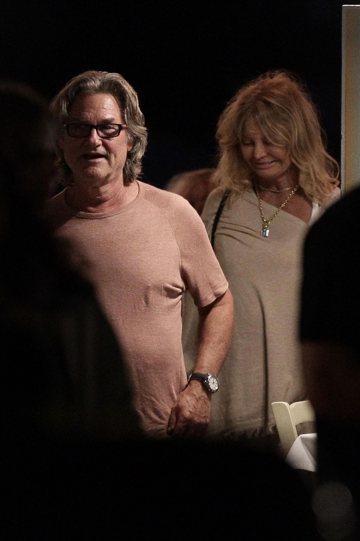 GOLDIE HAWN and Kurt Russell Out for Dinner in Skiathos 06 ...