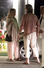 GOLDIE HAWN and Kurt Russell Out for Dinner in Skiathos 06/17/2017