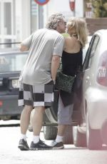 GOLDIE HAWN and Kurt Russell Out Shopping in Skiathos 06/18/2017
