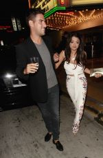 GOLNESSA GG GHARACHEDAGHI Night Out in Los Angeles 06/09/2017