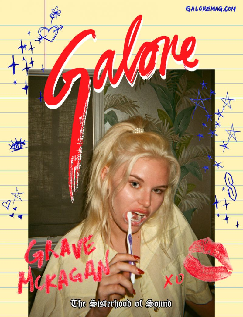 GRACE MCKAGAN for Galore Magazine, June 2017