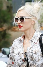 GWEN STEFANI Out and About in Silverlake 06/11/2017