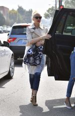 GWEN STEFANI Out and About in Studio City 06/04/2017