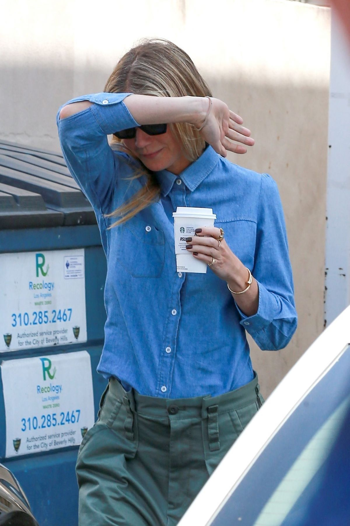 GWYNETH PALTROW Leaves Cartier Store in Beverly Hills 06/07/2017