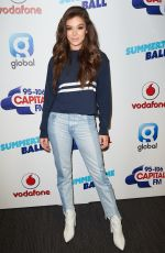 HAILEE STEINFELD at Capital's Summertime Ball in London 06/10/2017