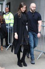 HAILEE STEINFELD Leaves BBC Radio Studios in London 06/12/2017