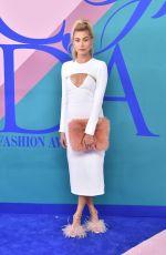 HAILEY BALDWIN at CFDA Fashion Awards in New York 06/05/2017