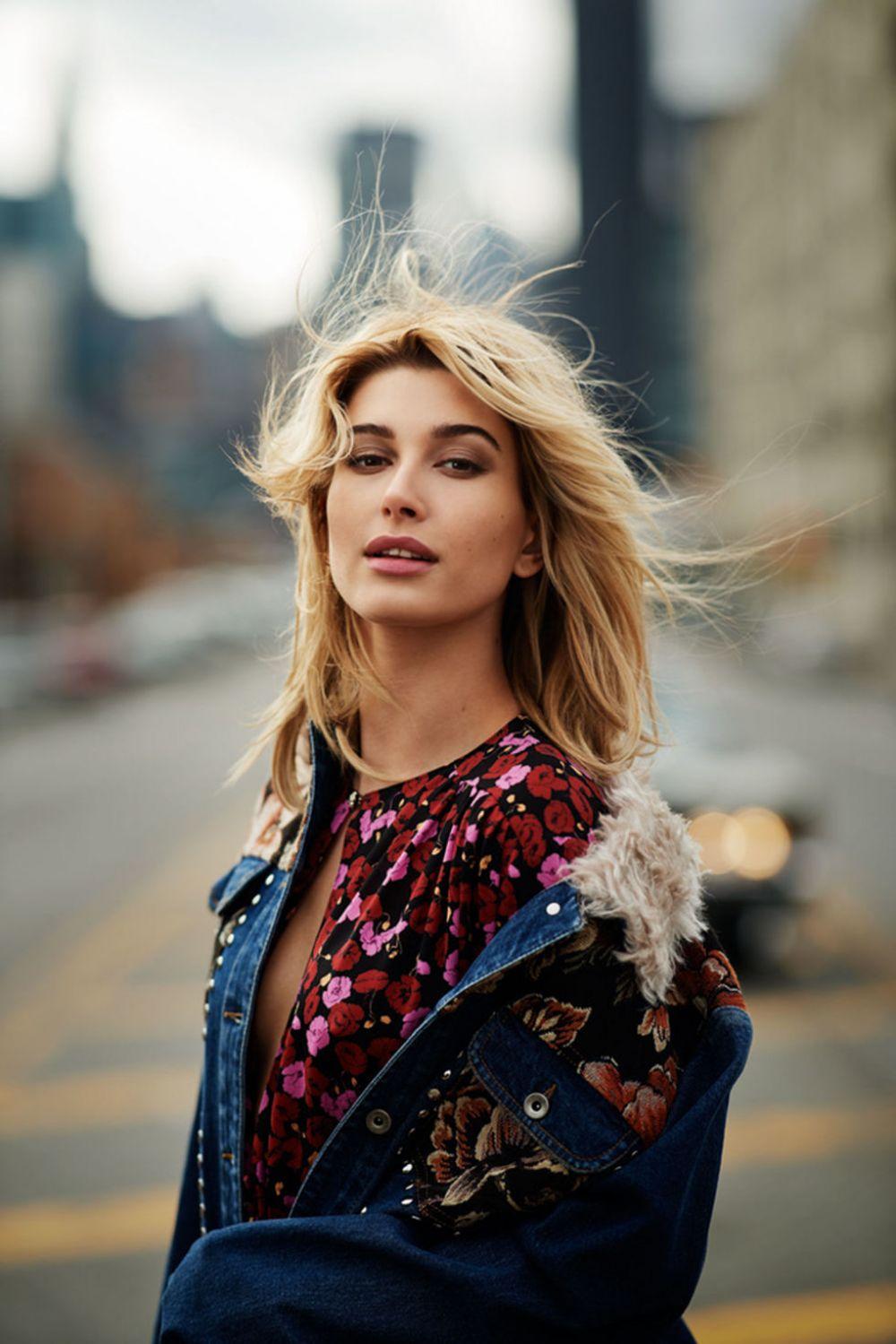 Hailey Baldwin In Fashion Magazine October 2017 Issue: HAILEY BALDWIN For Elle Magazine, UK July 2017