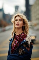 HAILEY BALDWIN for Elle Magazine, UK July 2017