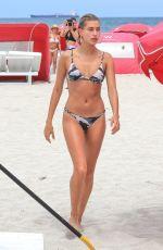 HAILEY BALDWIN in Bikini on the Beach in Miami 06/11/2017