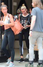 HAILEY BALDWIN Leaves a Gym in New York 06/14/2017