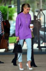 HAILEY BALDWIN Leaves Her Hotel in Miami 06/09/2017