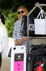 HAILEY BALDWIN Leaves Her Hotel in Miami 06/12/2017