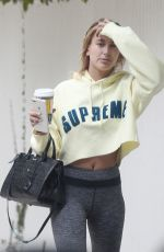 HAILEY BALDWIN Out and About in West Hollywood 06/08/2017