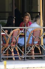 HAILEY BALDWIN Out for Lunch at Bouchon in Beverly Hills 06/01/2017